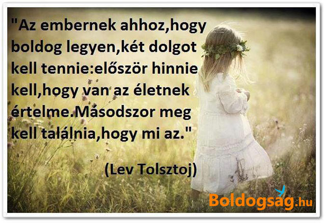 Boldogság - Lev Tolsztoj