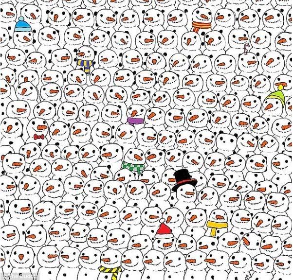 Hóemberek és a panda